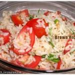 새콤달콤 현미밥 샐러드 (Brown Rice Salad)