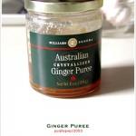Ginger Puree (생강쨈?)