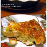 Jen's Mom's Impossible Quiche