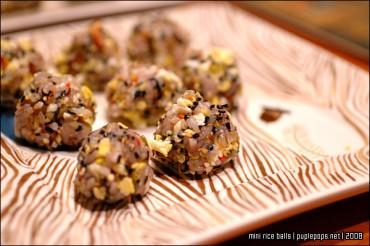 Mini Rice Balls