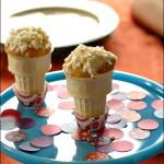 아이스크림 콘 케익