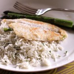 Coconut Rice with Fish