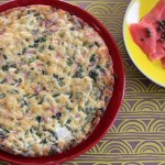 Spring Frittata with Asparagus & Radishes