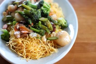 Seafood Subgum Noodle