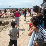 Sand Castle Contest at Coney Island