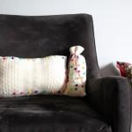 Pom Pom Knit Pillows