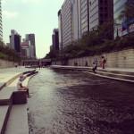 Visiting Seoul: 공항, 광화문, 청계천