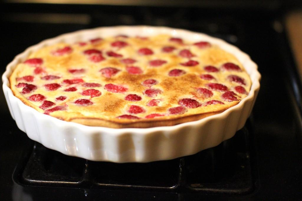 Baked Raspberry Custard | Purplepops
