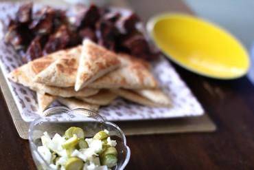 TV Dinner: Babyback Ribs + Naan