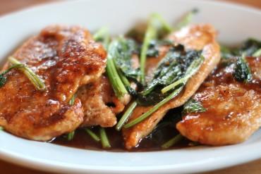 Teriyaki Chicken Cutlet