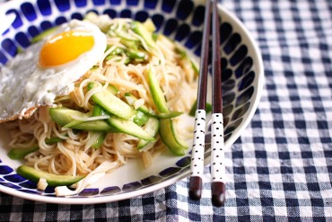 Wasabi Soy Sauce Noodles