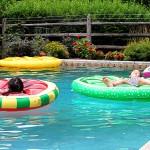 Farm Pool Party