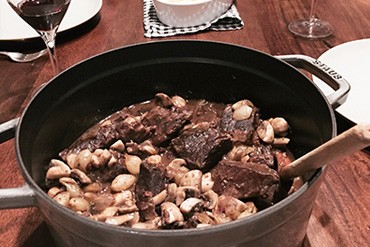 Boeuf Bourguignon For His Birthday
